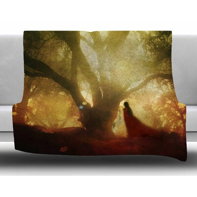 Autumn Song by Viviana Gonzalez Fleece Blanket