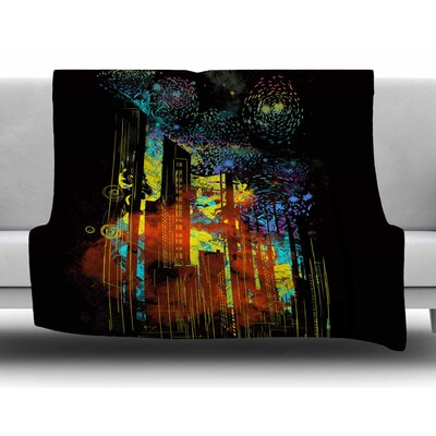 Starry City Lights by Frederic Levy-Hadida Fleece Blanket