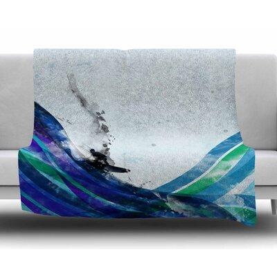 The Wave by Frederic Levy-Hadida Fleece Blanket