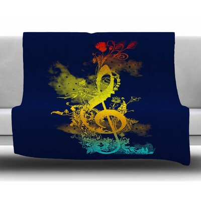 Sound of Nature by Frederic Levy-Hadida Fleece Blanket