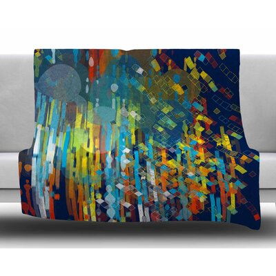 Color Fall by Frederic Levy-Hadida Fleece Blanket