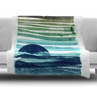 Sea Scape by Frederic Levy-Hadida Fleece Blanket