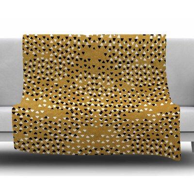Golden Sky by Pom Graphic Design Fleece Blanket