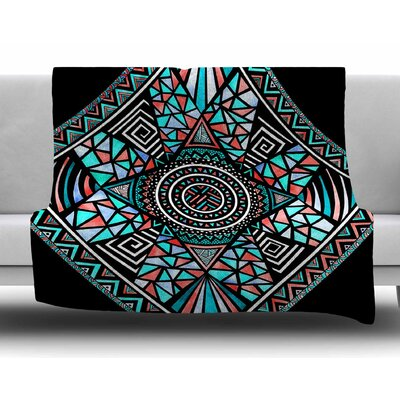 Geo Glass by Pom Graphic Design Fleece Blanket