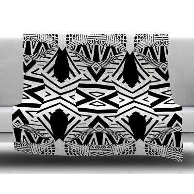 Africa by Pom Graphic Design Fleece Blanket