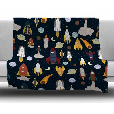 Rockets by Stephanie Vaeth Fleece Blanket