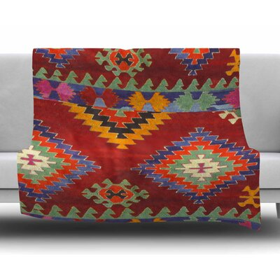 Tapestry Ethnic by S. Seema Z Fleece Blanket