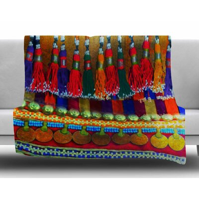 Boho Mania by S. Seema Z Fleece Blanket