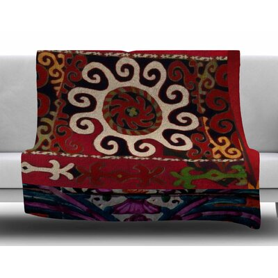 Burst of Diverse by S. Seema Z Fleece Blanket