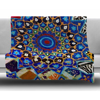 Ethnic Explosion by S. Seema Z Fleece Blanket