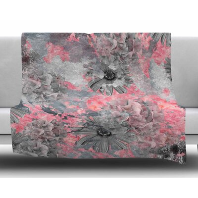 Floral Blush by Zara Martina Mansen Fleece Blanket