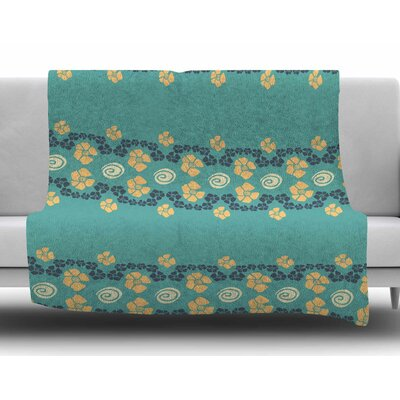 Flora Formations by Zara Martina Mansen Fleece Blanket