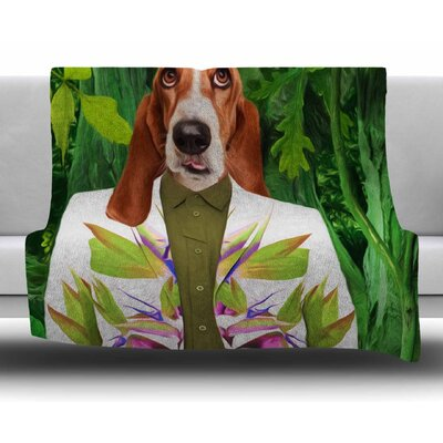 Into the Leaves N5 by Natt Fleece Blanket