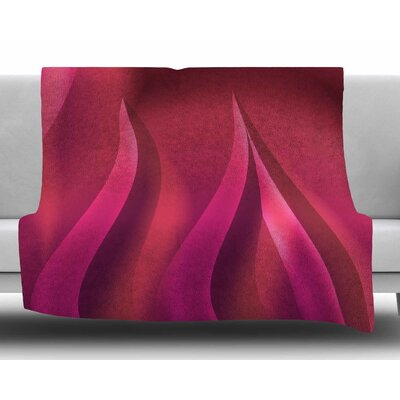 Petals by Fotios Pavlopoulos Fleece Blanket