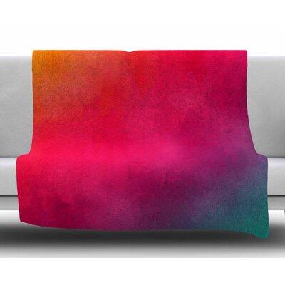 Rainbow Loon by Fotios Pavlopoulos Fleece Blanket