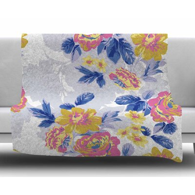 Royal Garden by Gukuuki Fleece Blanket