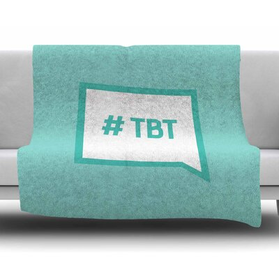 Throw Back Thursday Fleece Blanket