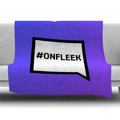 On Fleek Fleece Blanket