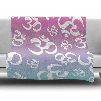 Ohm My Pastels Fleece Blanket