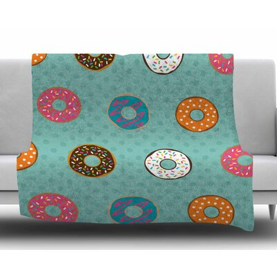 Doughnut Brigade by Juan Paolo Fleece Blanket