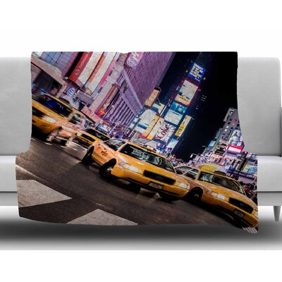 Rush Hour by Juan Paolo Fleece Blanket