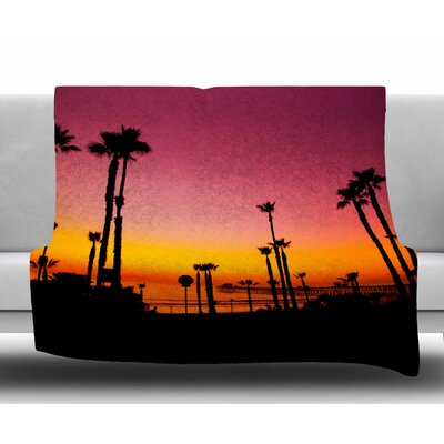 Pacific Dream by Juan Paolo Fleece Blanket
