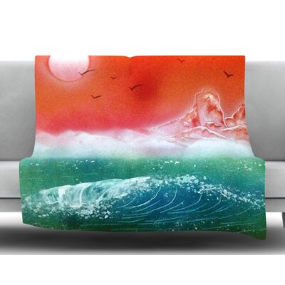 Dream Seascape by Infinite Spray Art Fleece Blanket
