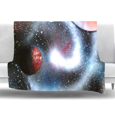 Starburst by Infinite Spray Art Fleece Blanket