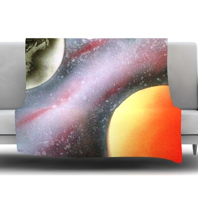 Alignment by Infinite Spray Art Fleece Blanket