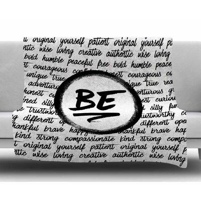 Be... by Noonday Design Fleece Blanket