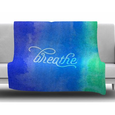 Breathe by Noonday Design Fleece Blanket