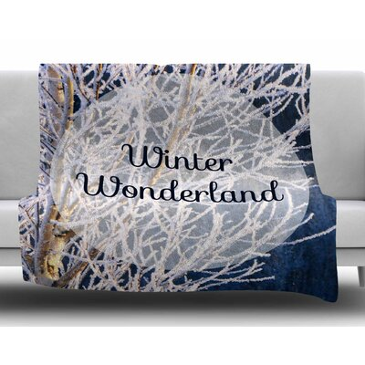 Winter Wonderland by NL Designs Fleece Blanket