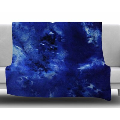 Saltwater Diamond by Nina May Fleece Blanket