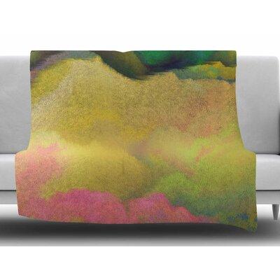 Pastoral by Nina May Fleece Blanket