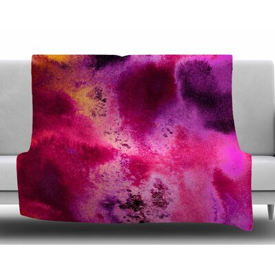Rosewater Sun by Nina May Fleece Blanket