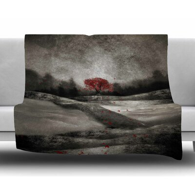 The Sounds And Poems 1 by Viviana Gonzalez Fleece Blanket