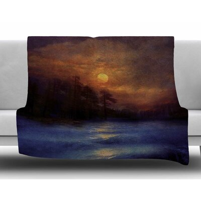 Hope in the Water by Viviana Gonzalez Fleece Blanket