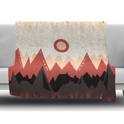 Landscape A by Viviana Gonzalez Fleece Blanket