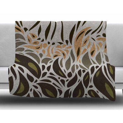 Africa - Abstract Pattern II by Viviana Gonzalez Fleece Blanket