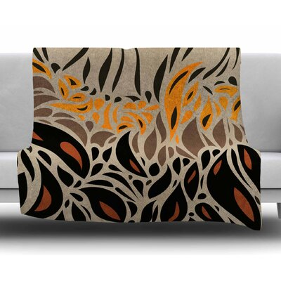Africa - Abstract Pattern I by Viviana Gonzalez Fleece Blanket