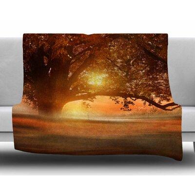 Romance in Autumn by Viviana Gonzalez Fleece Blanket