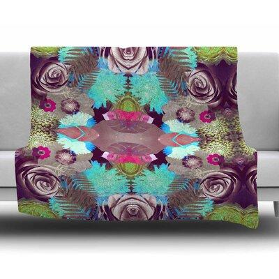 Kaleidoscopic Boho by Vasare Nar Fleece Blanket