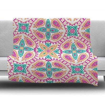 Boho in Multicolor by Nandita Singh Fleece Blanket