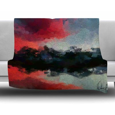 Montserrat by Oriana Cordero Fleece Blanket