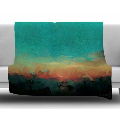 Martinique by Oriana Cordero Fleece Blanket