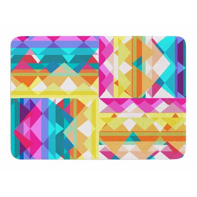 Triangle Checker by Miranda Mol Bath Mat