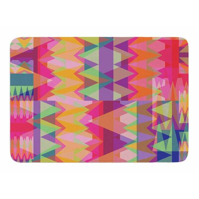 Triangle Fun by Miranda Mol Bath Mat