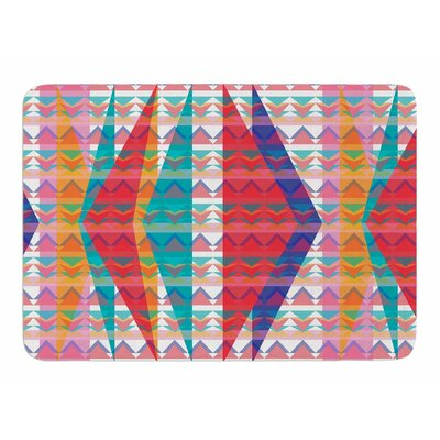 Triangle Illusion by Miranda Mol Bath Mat