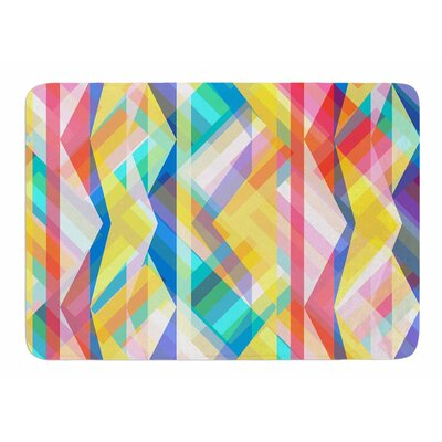 Triangle Rhythm by Miranda Mol Bath Mat