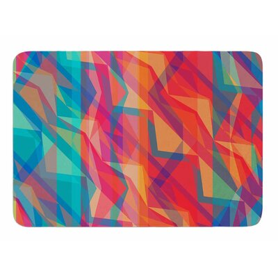 Triangle Opticals by Miranda Mol Bath Mat